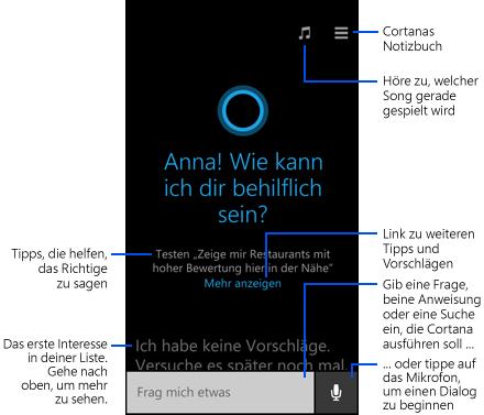 Cortana Sprachassistent kommt auch für Android