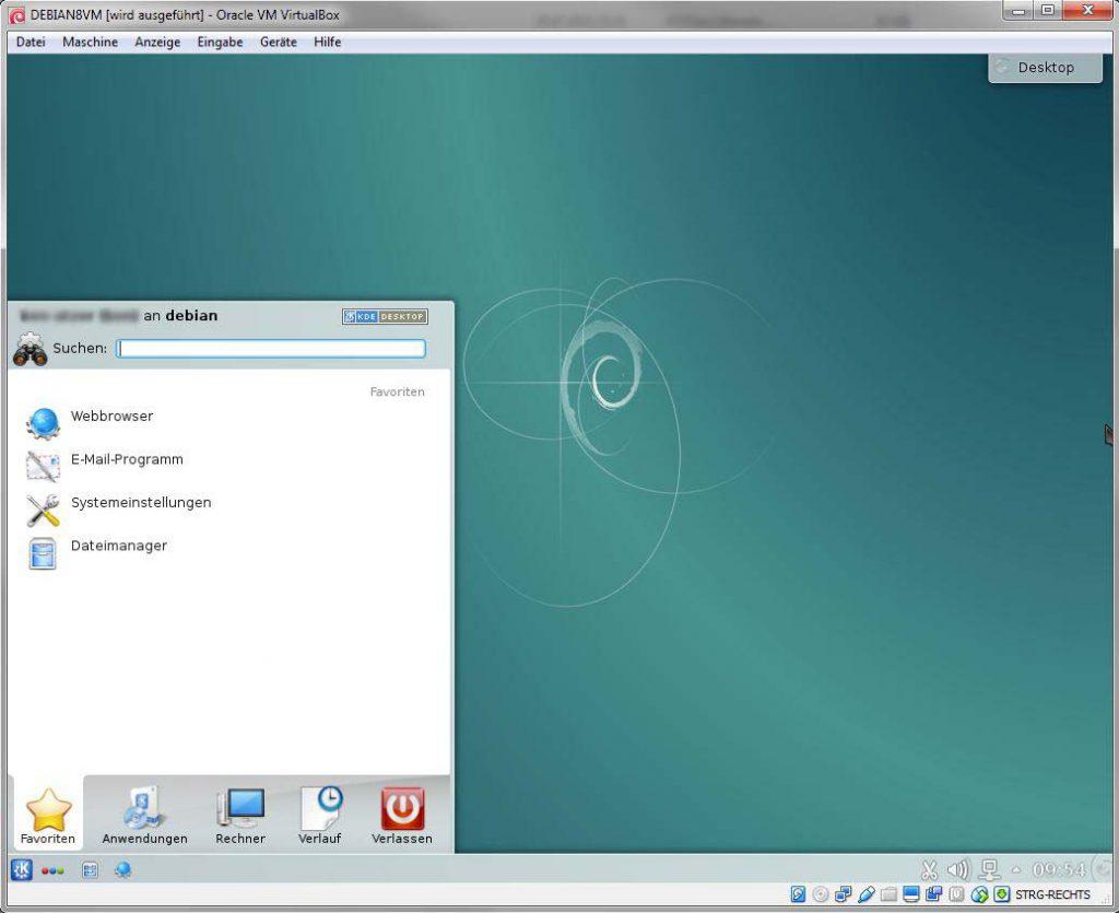 virtualbox windows 7