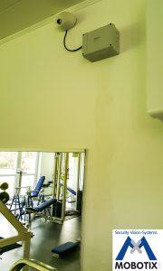 IP Videoüberwachung Fitnessstudio