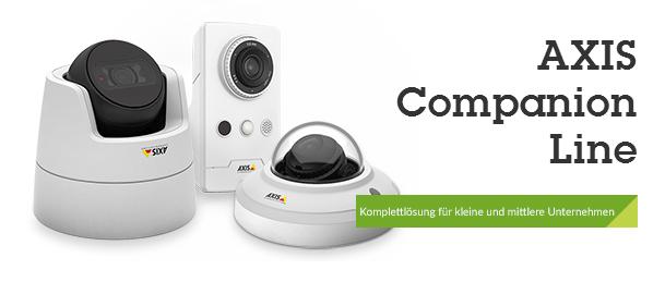 AXIS Companion: Die ideale Videoüberwachungslösung für kleine und mittlere Unternehmen